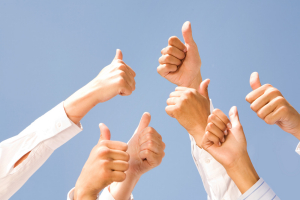 Thumbs Up for Business Investment